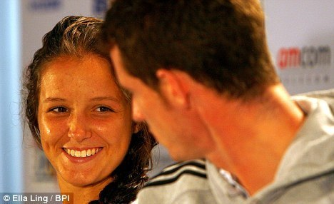 Andy and Laura Robson - andy-murray Photo
