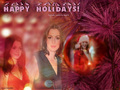 Anne xmas wallpaper - anne-hathaway wallpaper