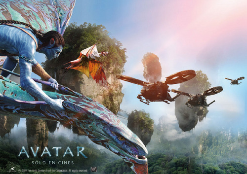 Avatar wallpaper titled Avatar Spanish Poster