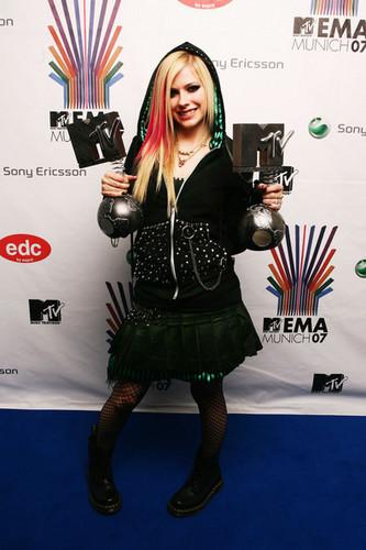 Awards Room At The MTV Europe Music Awards 2007