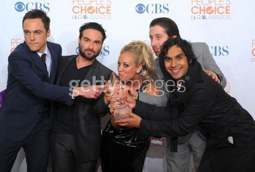 BBT cast at People Choice Awards