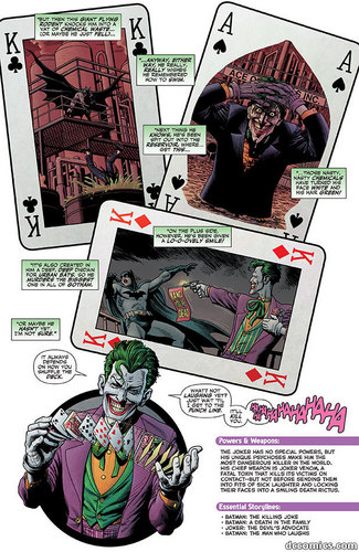 Batman Villains Origin