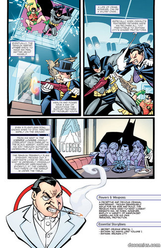Batman Villains Origin