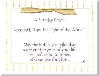 Birthday Prayer For Susie <3