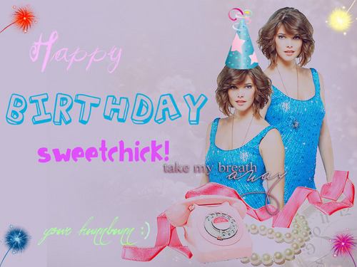 Birthday present for my sweetchick!!! <3