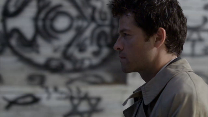 Breathtaking badges of Castiel!