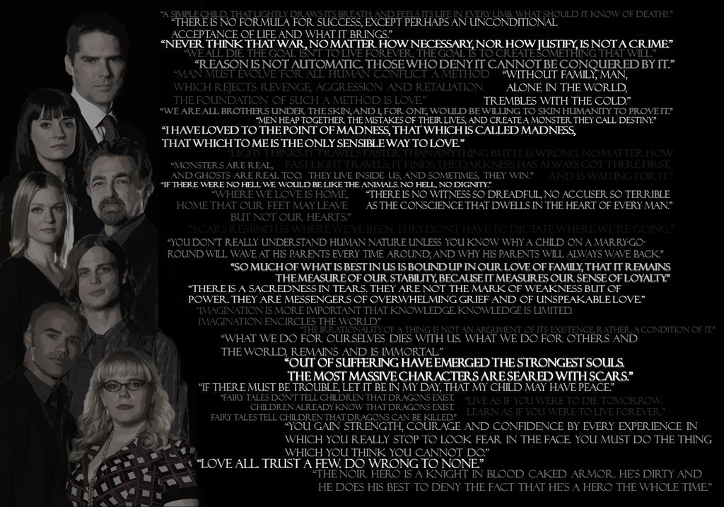 Best Quotes Used On Criminal Minds