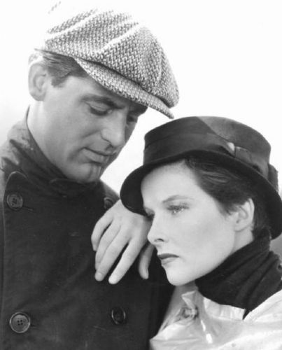 Cary Grant And Katherine Hepburn