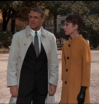 प्रतिष्ठित फिल्में वॉलपेपर with a business suit, a suit, and a double breasted suit entitled Cary and Audrey