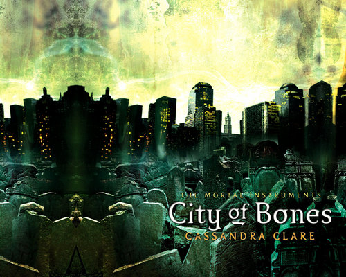 Mortal Instruments wallpaper containing a fountain entitled City Of Bones Wallpaper