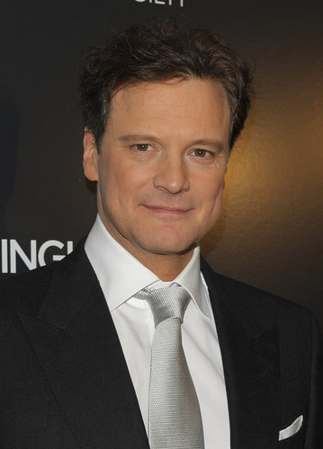 Colin Firth at The Cinema Society and Bing Host Screening of A Single Man