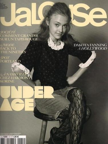 "Dakota Fanning on ""jalouse"" magazine"