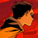 Damian Wayne overlooks Gotham City as Robin - damian-wayne icon