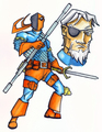 Deathstroke ( Slade ) - deathstroke fan art