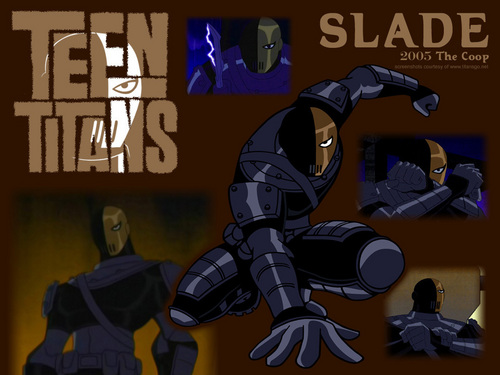 Deathstroke wallpaper with anime entitled Deathstroke