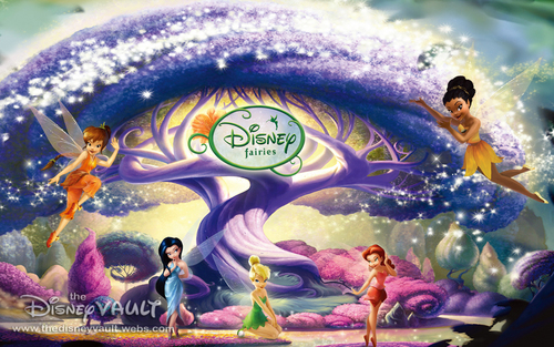 Classic Disney wallpaper called Disney Fairies