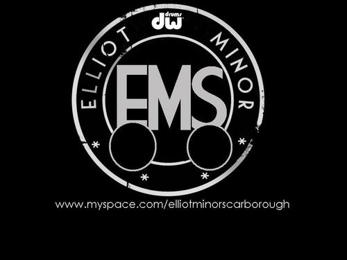 Elliot Minor Scarborough Drum Logo