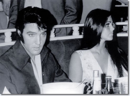 Elvis & Priscilla in Vegas!