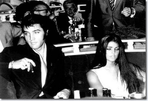Elvis & Priscilla in Vegas!!