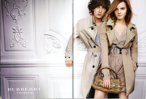 Emma & Alex Watson in Burberry Spring/Summer Campaign