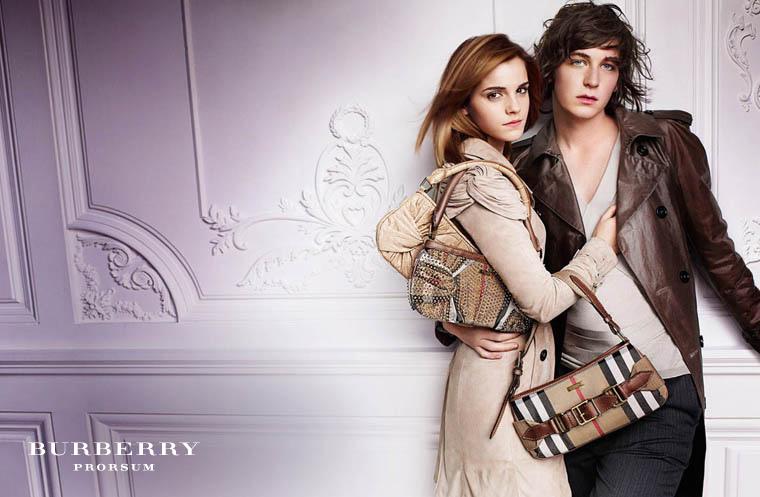 emma watson burberry campaign. Emma Watson in Burberry