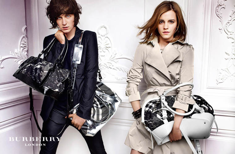 burberry wallpaper. Emma Watson in Burberry