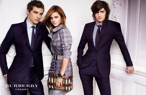 Emma Watson in burberry Spring/Summer Campaign