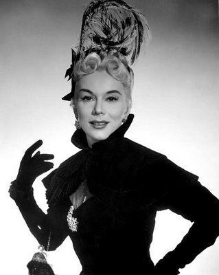 Classic Movies wallpaper possibly containing an outerwear entitled Eva Gabor