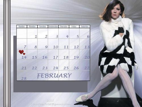 February 2010 Diana (calendar)