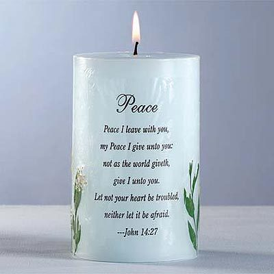 Candle Of Peace !