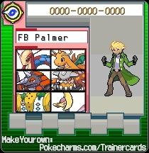 Frontier Brain Palmer's Trainer card