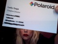 GAGA - Polaroid Business Card