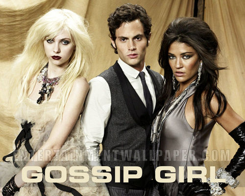 Masquerade wallpaper containing a portrait entitled Gossip Girl