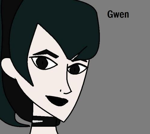 Gwen cartoon