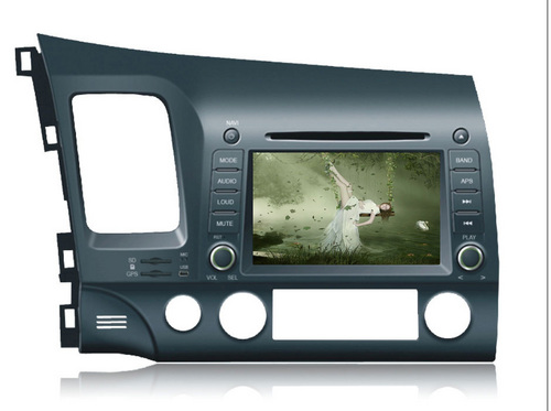 HONDA civic, special Car DVD player , 7 inch HD screen, GPS+ipod+rds+bluetooth