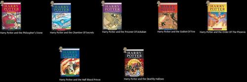 Harry Potter libros 1-7