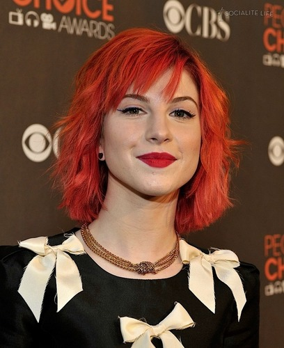Hayley at People's Choice Awards