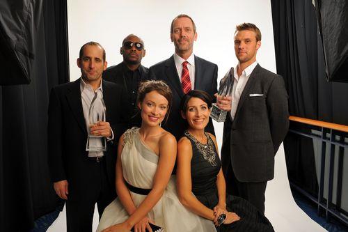 House cast portraits @ People Choice Awards - January 6 - 2010 - 4HQ