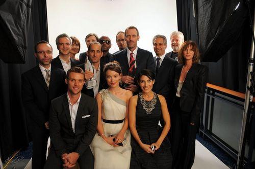 House cast portraits @ People Choice Awards - January 6 - 2010 -