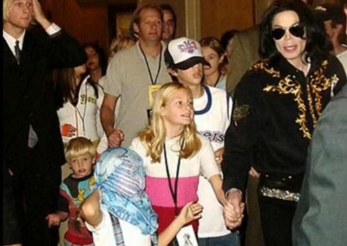 Jackson kids in Vegas