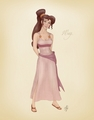 Jennifer Love Hewitt as Megara in Color - jennifer-love-hewitt fan art