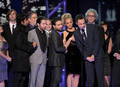 Jim and the rest of the BBT cast accept their award (PCA 2010) - jim-parsons photo