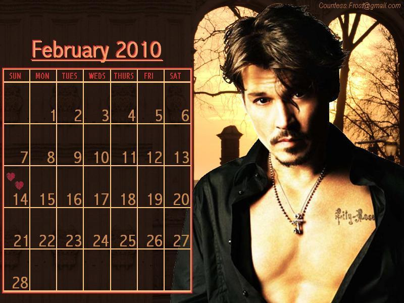 Johnny - February 2010 (calendar) - 78.4KB