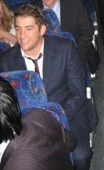 Jon on a bus