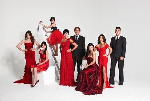Keeping Up With The Kardashians wallpaper containing a bridesmaid, a dinner dress, and a gown entitled Kardashians