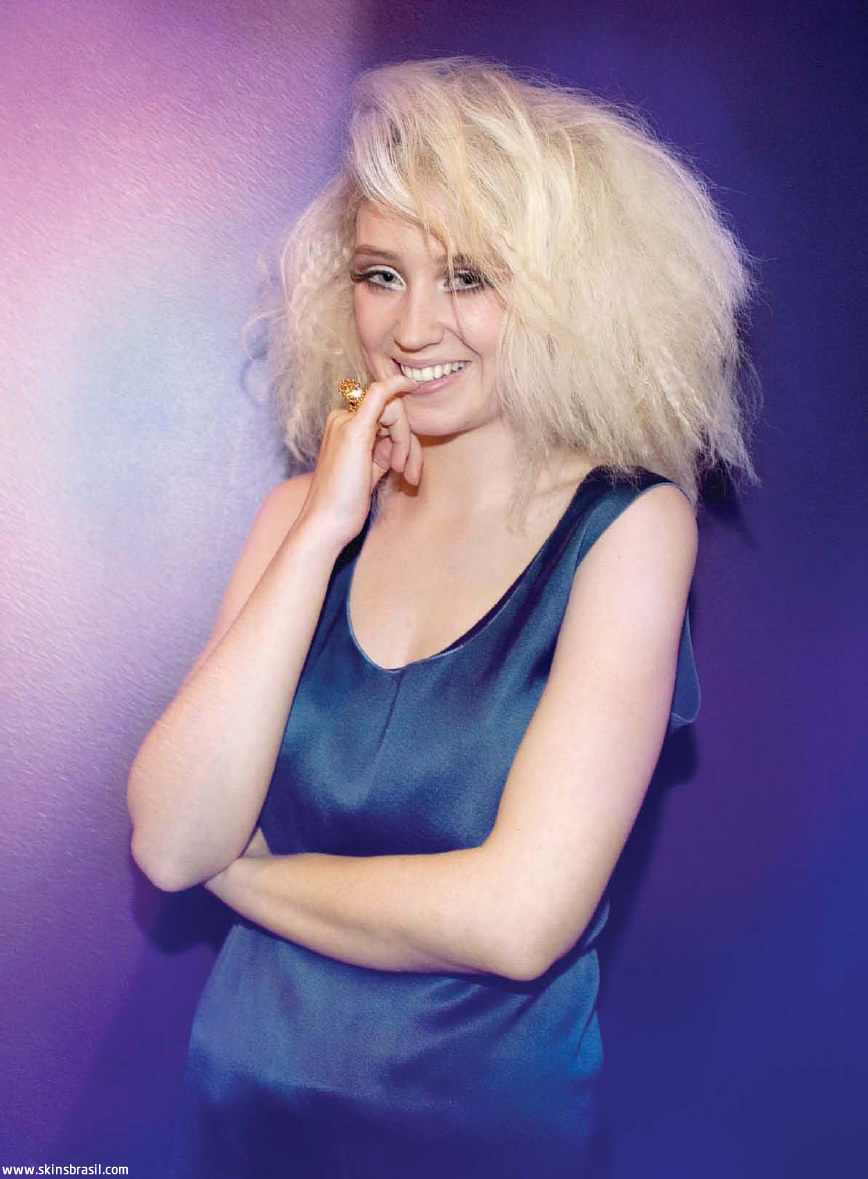 Kathryn Prescott and Lily Loveless in Diva Magazine