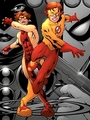 Kid Flash and Impulse
