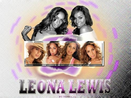 Leona Pretty karatasi la kupamba ukuta