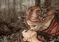 Lesbian/Bisexual Fantasy Art