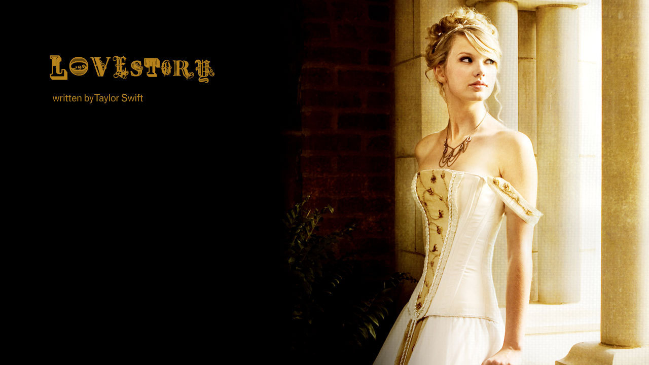 Love Story Wallpaper Images : Taylor Swift images Love Story HD wallpaper and background photos (9797036)